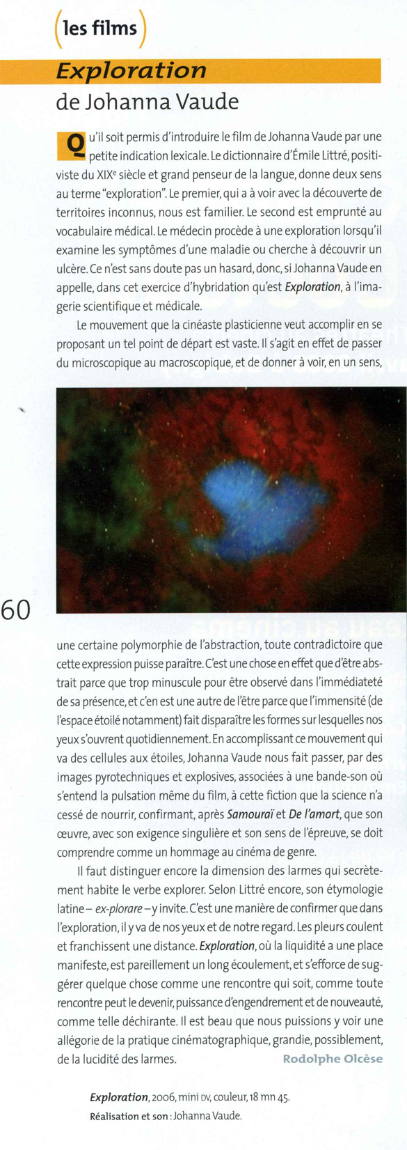 Bref 81 Johanna Vaude