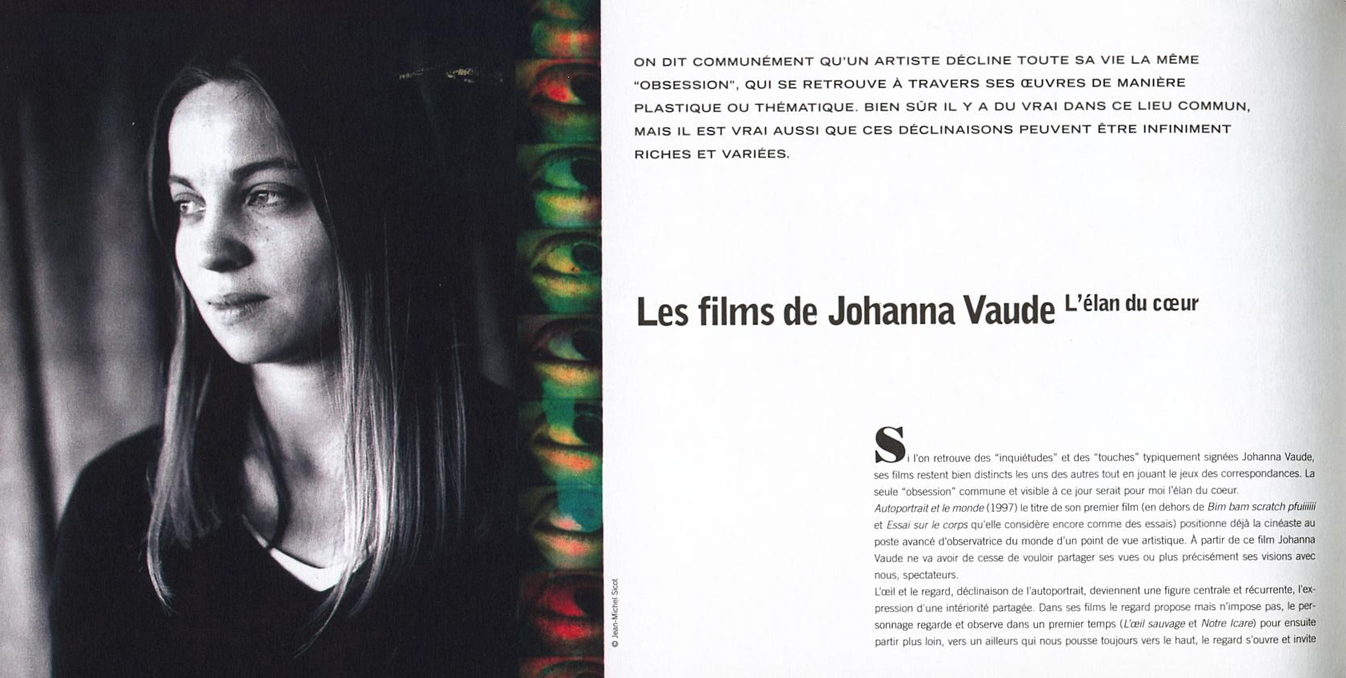 Festival Côté Court johanna vaude
