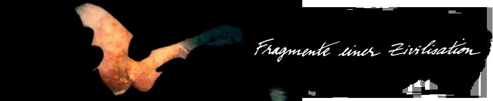 Fragmente einer Zivilisation (Werner Herzog par Johanna Vaude)