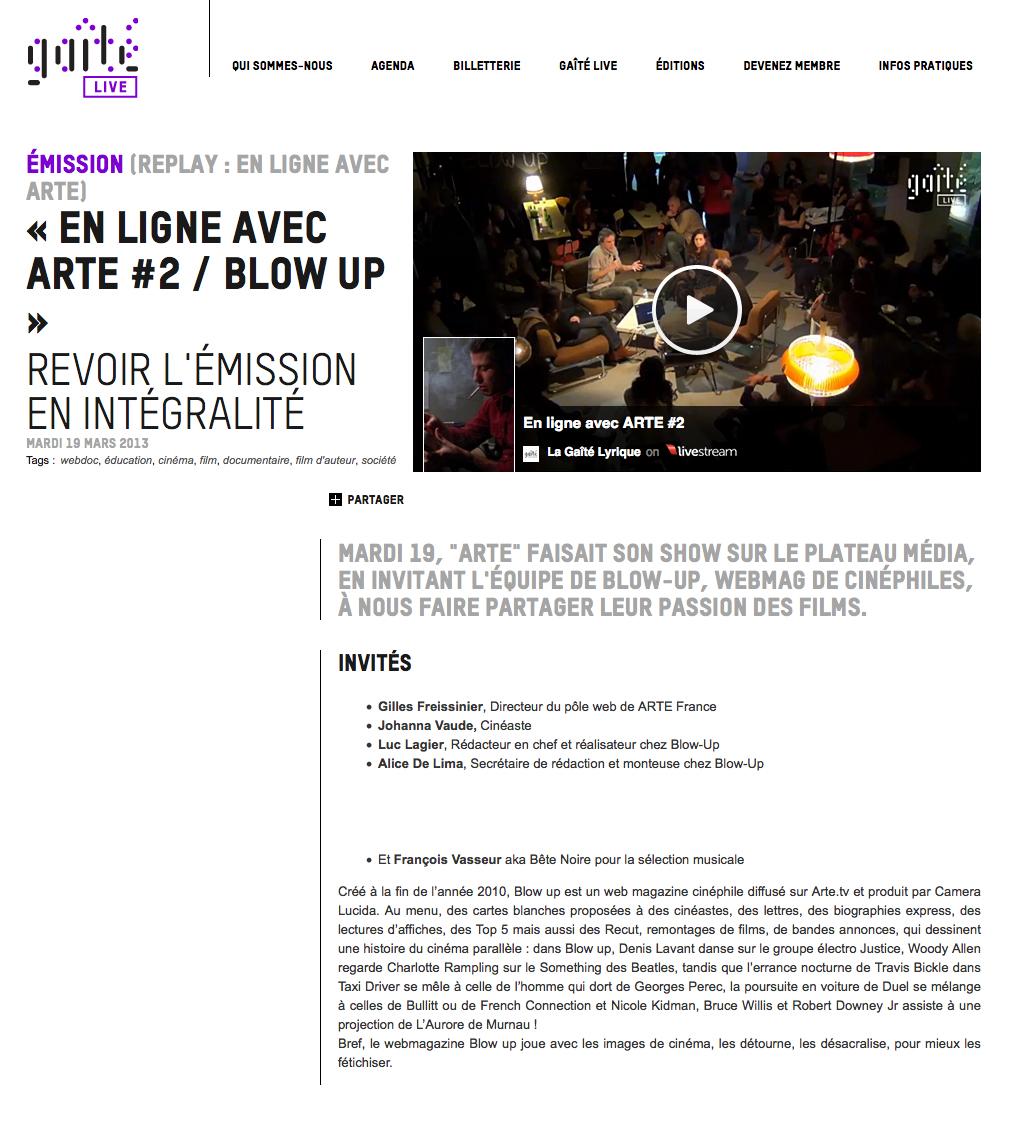 blow up arte