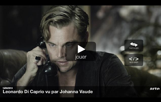 Leonardo Di Caprio par Johanna Vaude - Blow up arte