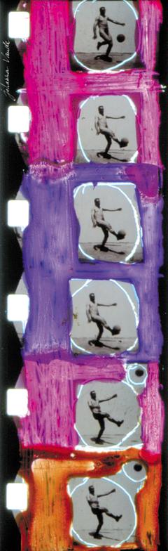 totalité film de johanna vaude super 8 peinture sur pellicule