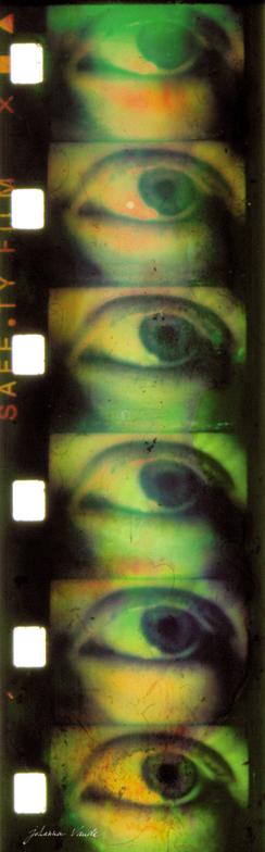 l'oeil sauvage par johanna vaude film super 8 experimental et hybride hand painting film