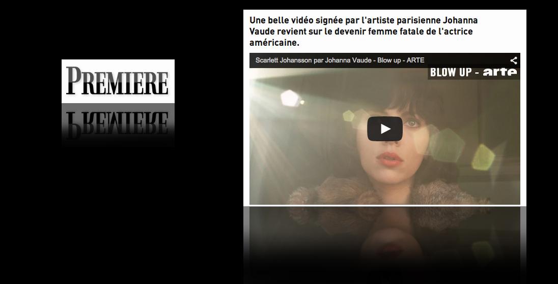 La carrière de Scarlett Johannson revisitée dans un fascinant clip psychédélique