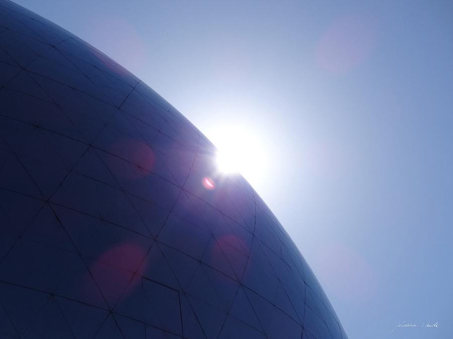 la géode villette photo par johanna vaude space odysée