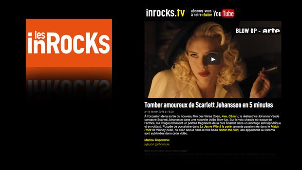 Les Inrocks Tomber amoureux de Scarlett Johansson en 5 minutes