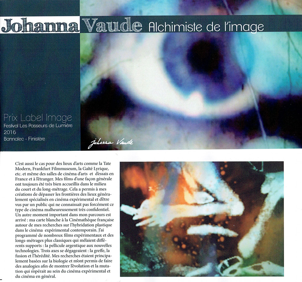johanna vaude - prix label image - blow up arte - camera lucida