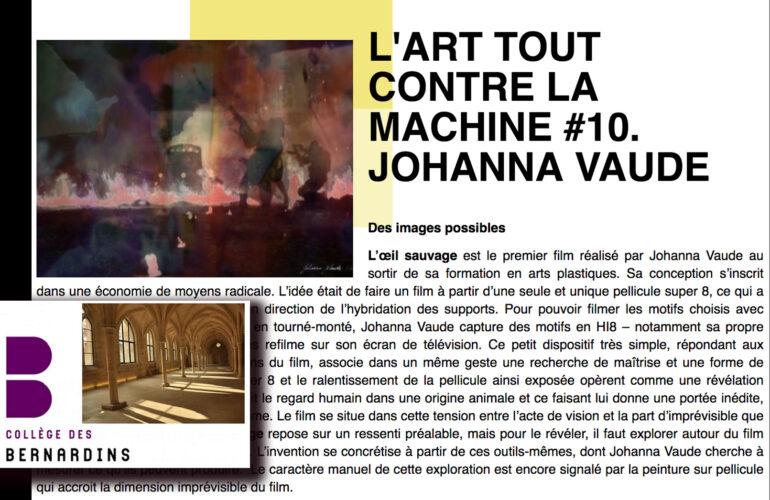 college-des-bernardins-art-tout-contre-la-machine-johanna-vaude-hybride